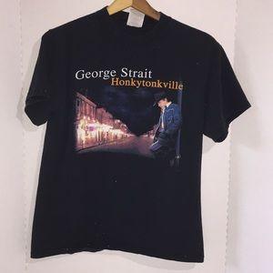 George Strait concert tee